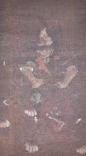 A portrait of Zhong Kui