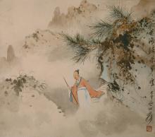 A paintinf Return from Huanghai by Zhang Da Qian