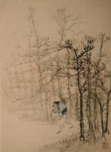 A painting of Lumberman