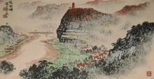 A landscape by Qian Song Yan