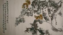 Squirrels and pines by Liu Dan Zhai