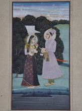 An Indian fFine Painting from the 19th Century