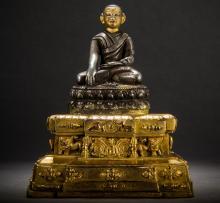 Jigten Gönpo Statue  Central Tibet 16th century