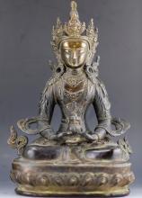 Bronze figure of Guan Yin Buddha from Ming Dynasty