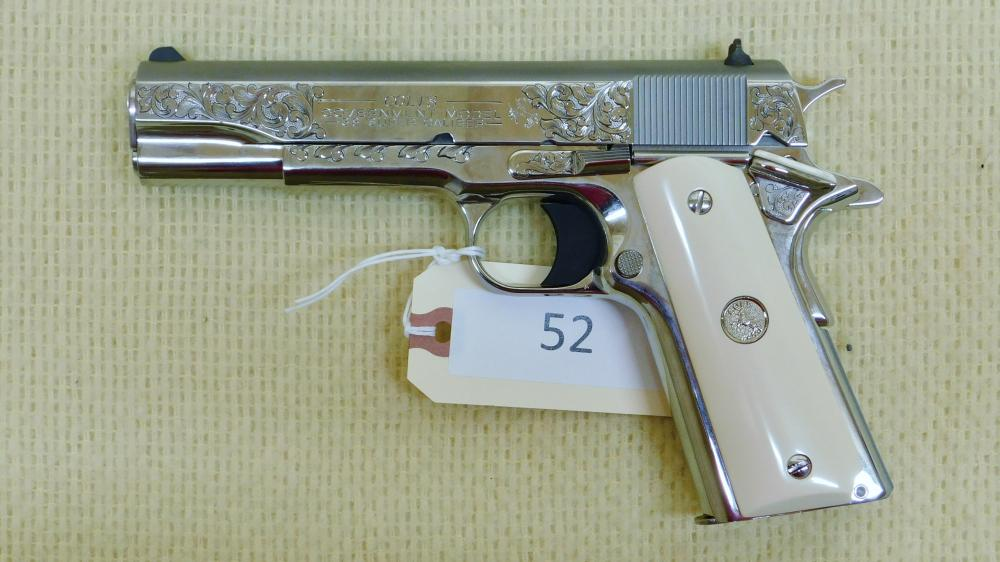 Colt 1911 Government Model Factory Engraved