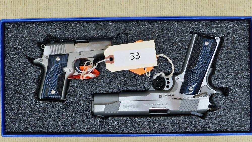Colt 2 Gun Set Model Government
