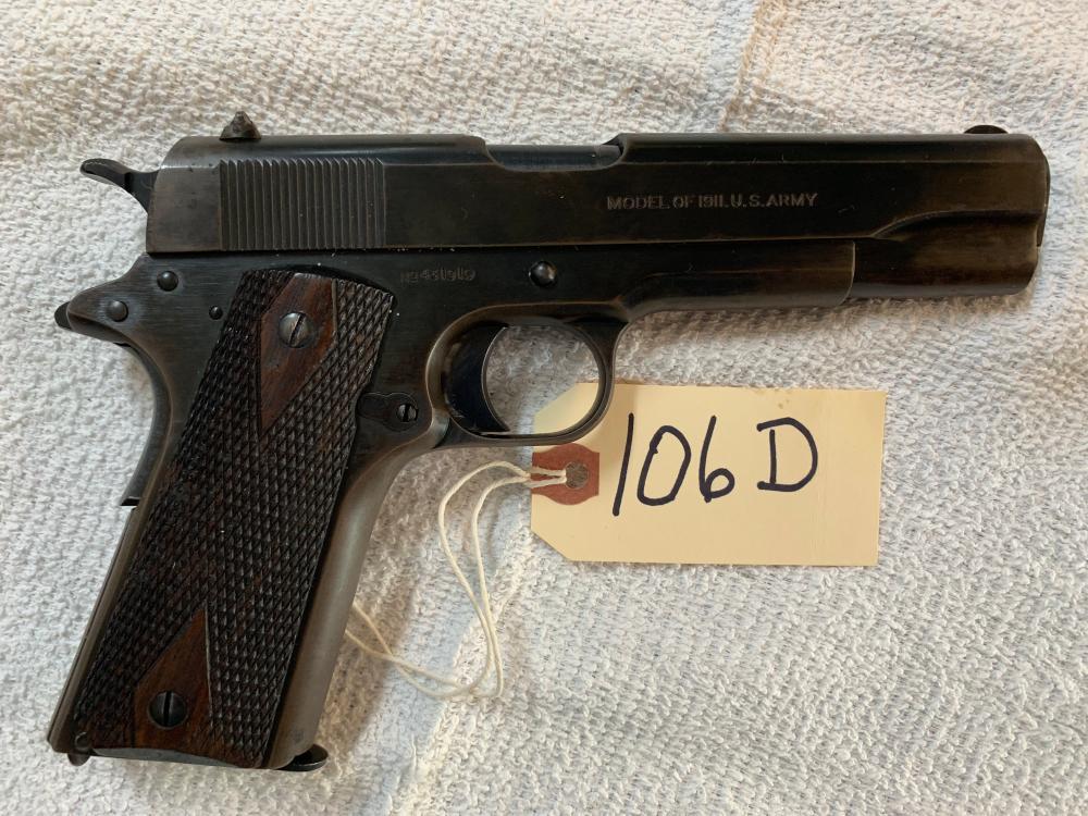 Colt 1911 US Army WWI Edition