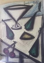 Bernard Buffet Book * Important note the decscription  is correct but the images are reversed with Lot 46