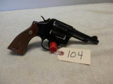 Smith and Wesson Model 10-5 Blue 38 Special 4 inch SN: D848189