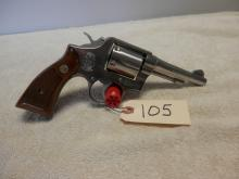 Smith and Wesson Model 64 Stainless 38 Special 4 inch SN:D427024