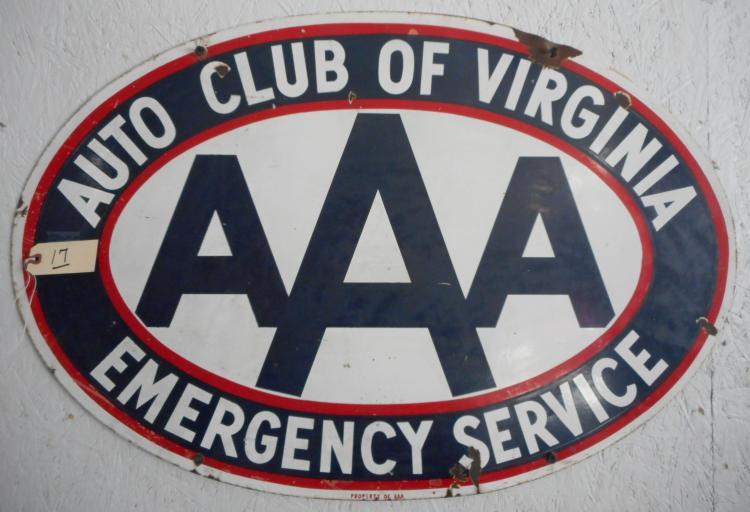 AAA of Va Sign