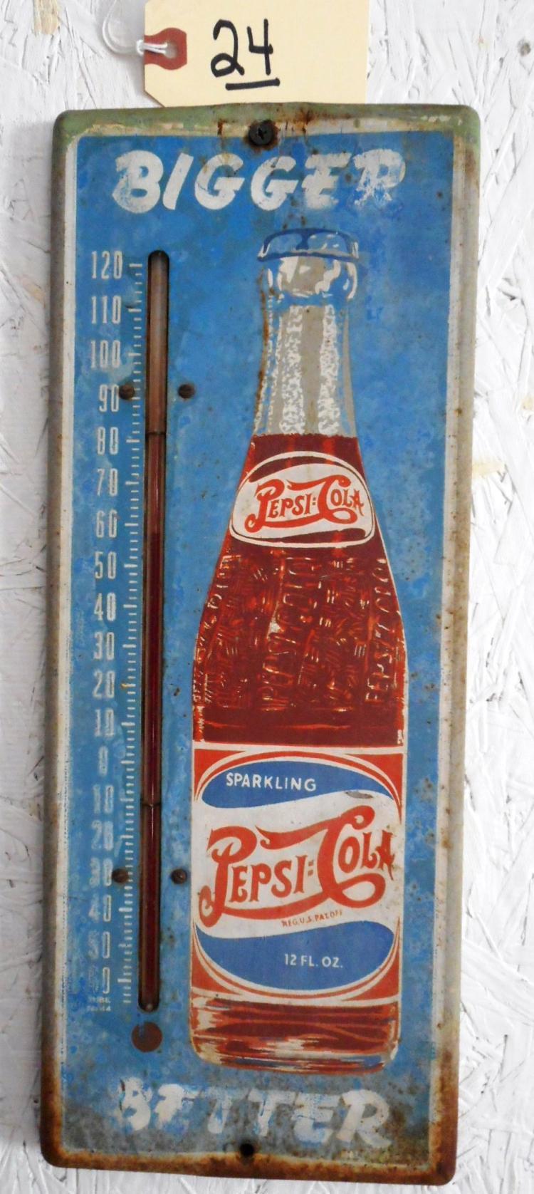 Pepsi-Cola Thermometer