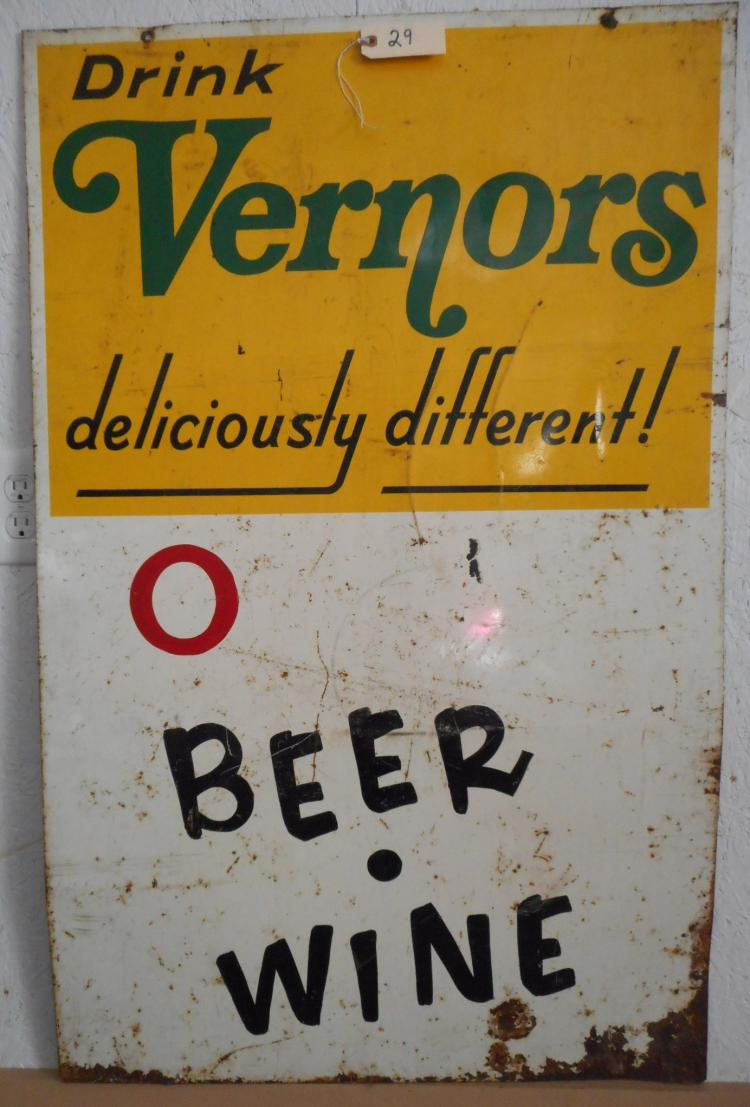 Vernors Sign