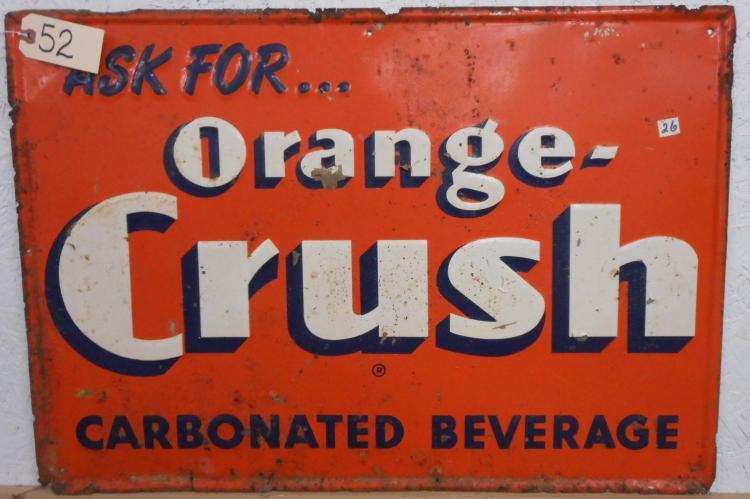 Orange-Crush Sign