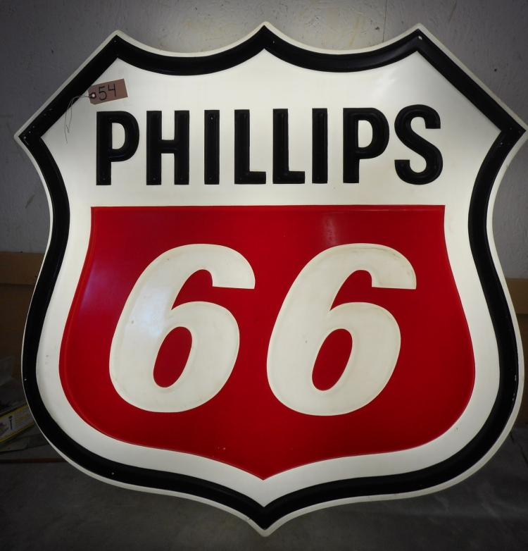 Phillps 66 lighted Sign