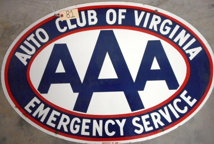 AAA of Va Sign