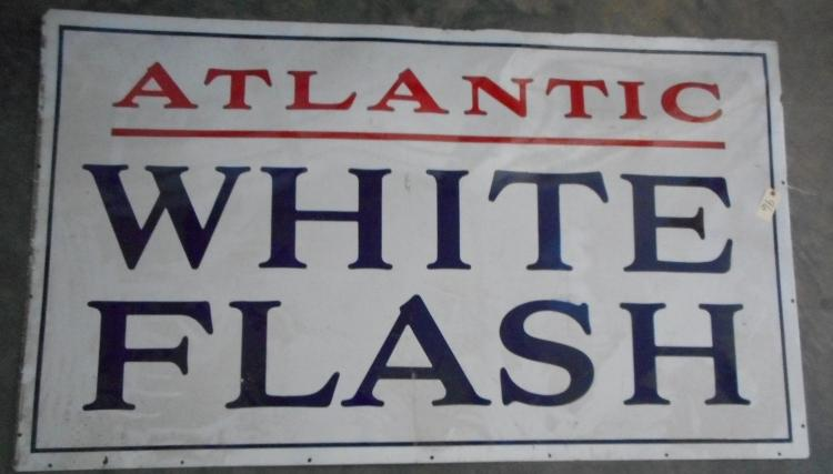 Atlantic White Flash Sign