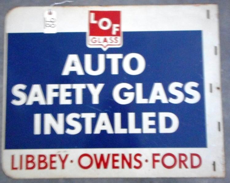 LOF Glass Sign