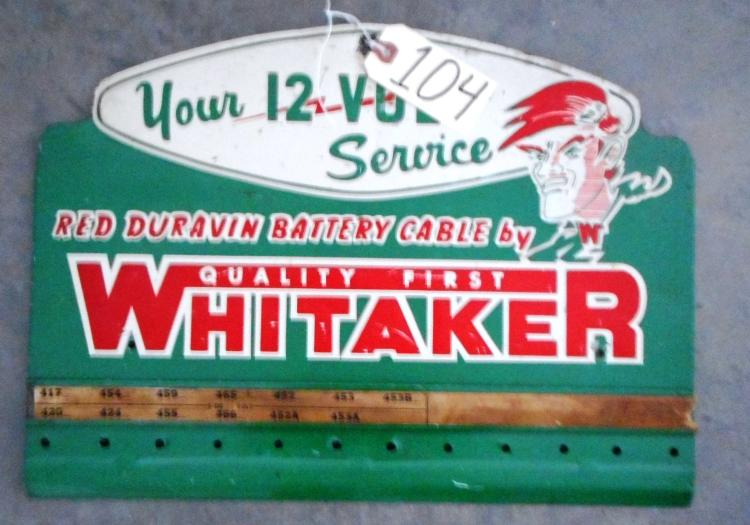 Whitaker Sign