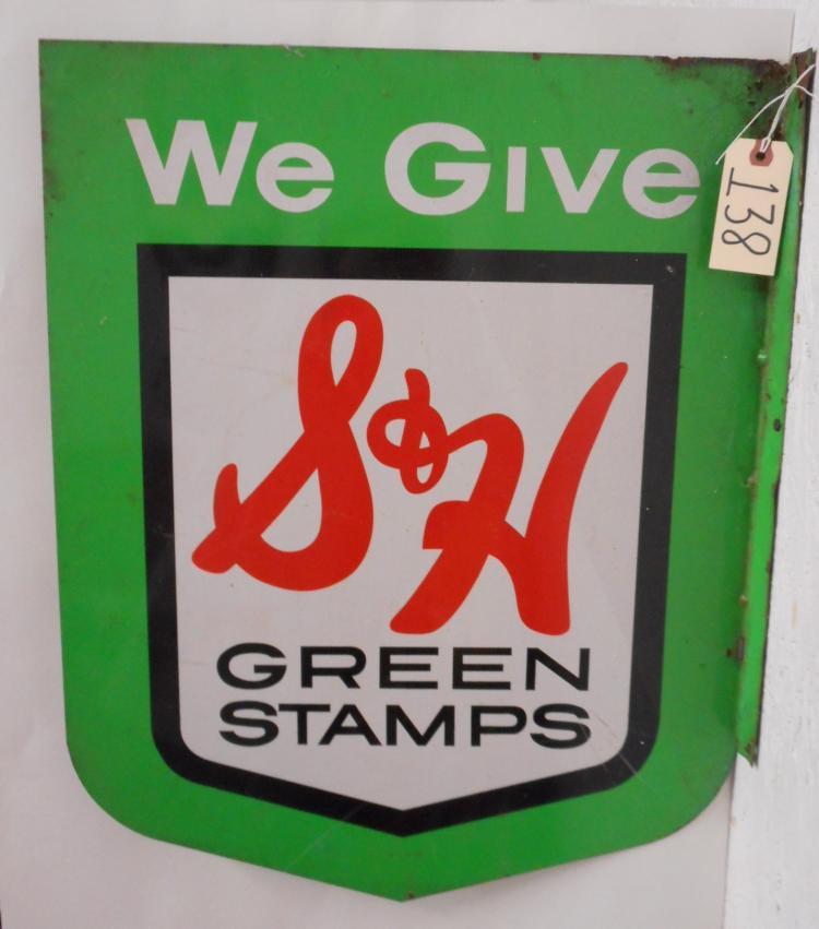 S&H Green Stamp Flange Sign