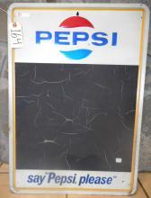 Pepsi Chalkboard Sign