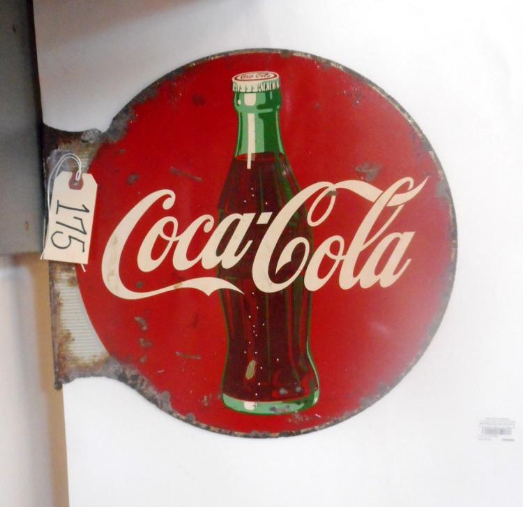 Coca- Cola Flange Sign