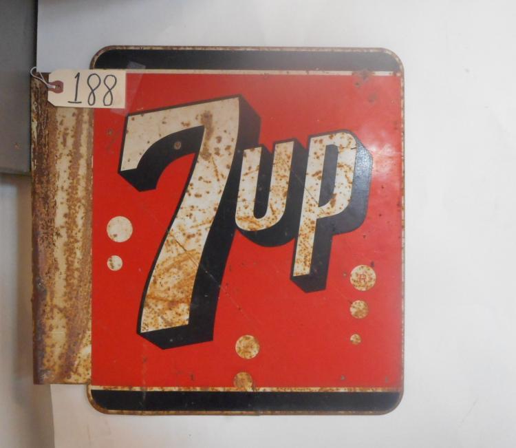 7UP Flange Sign