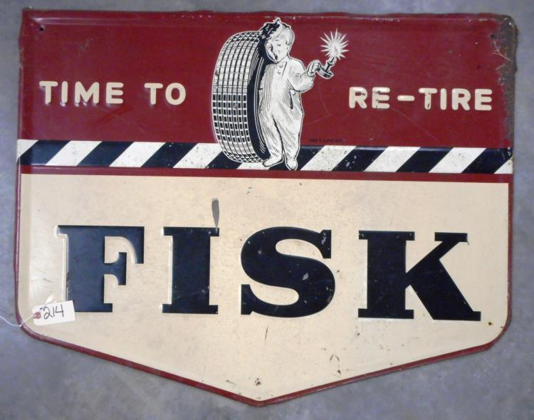 Fisk Sign