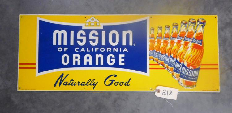 Mission Orange Sign
