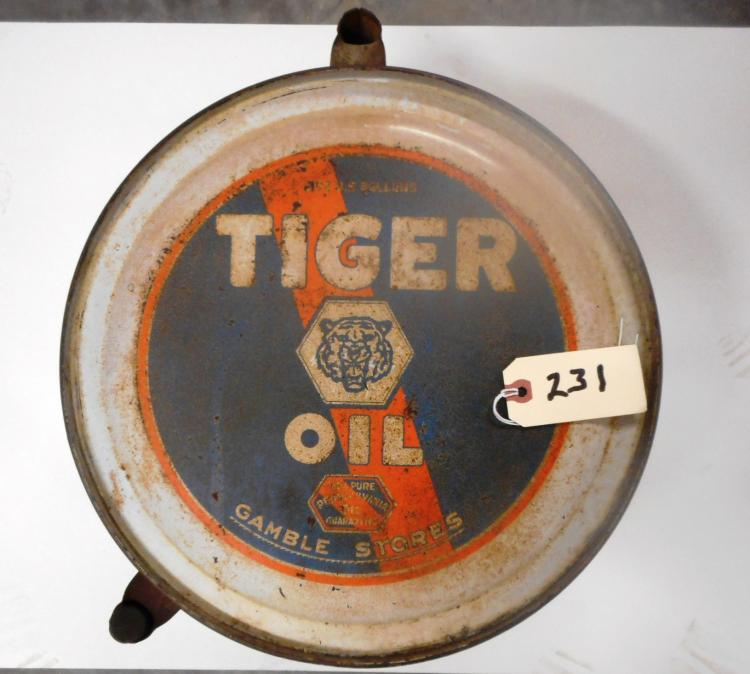 Tiger Oil Can