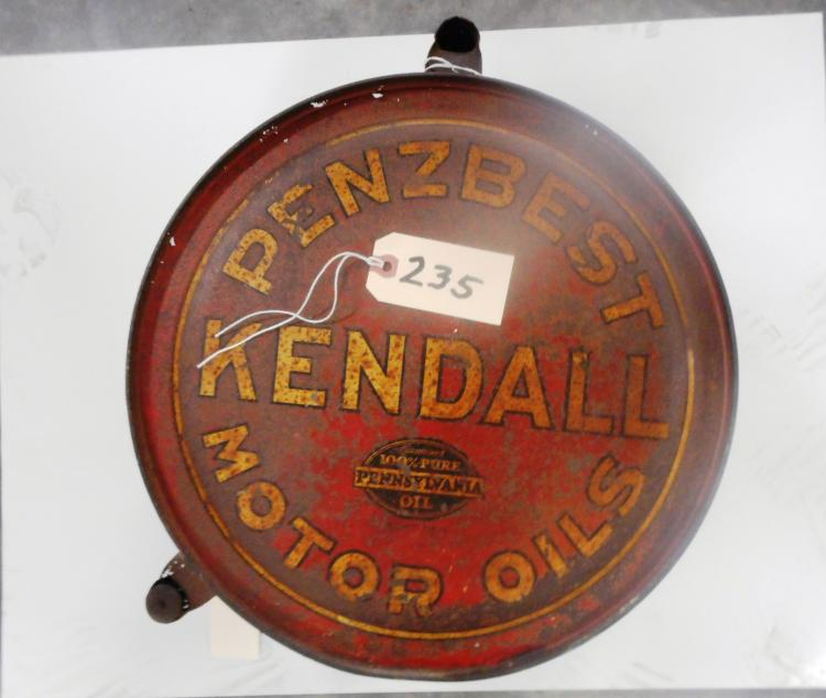 Kendall Motor Oil Sign