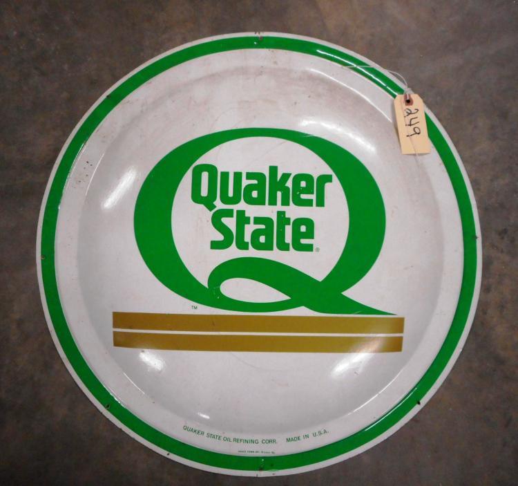Quaker State Sign