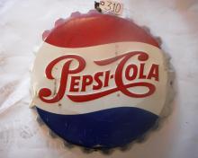 Pepsi Bottle Cap Sign