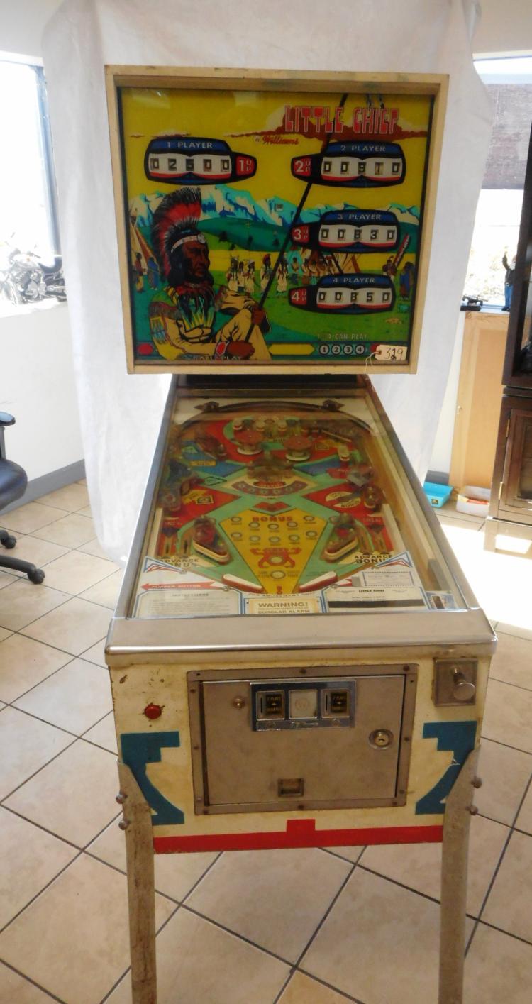 Little Chief Pinball Machine