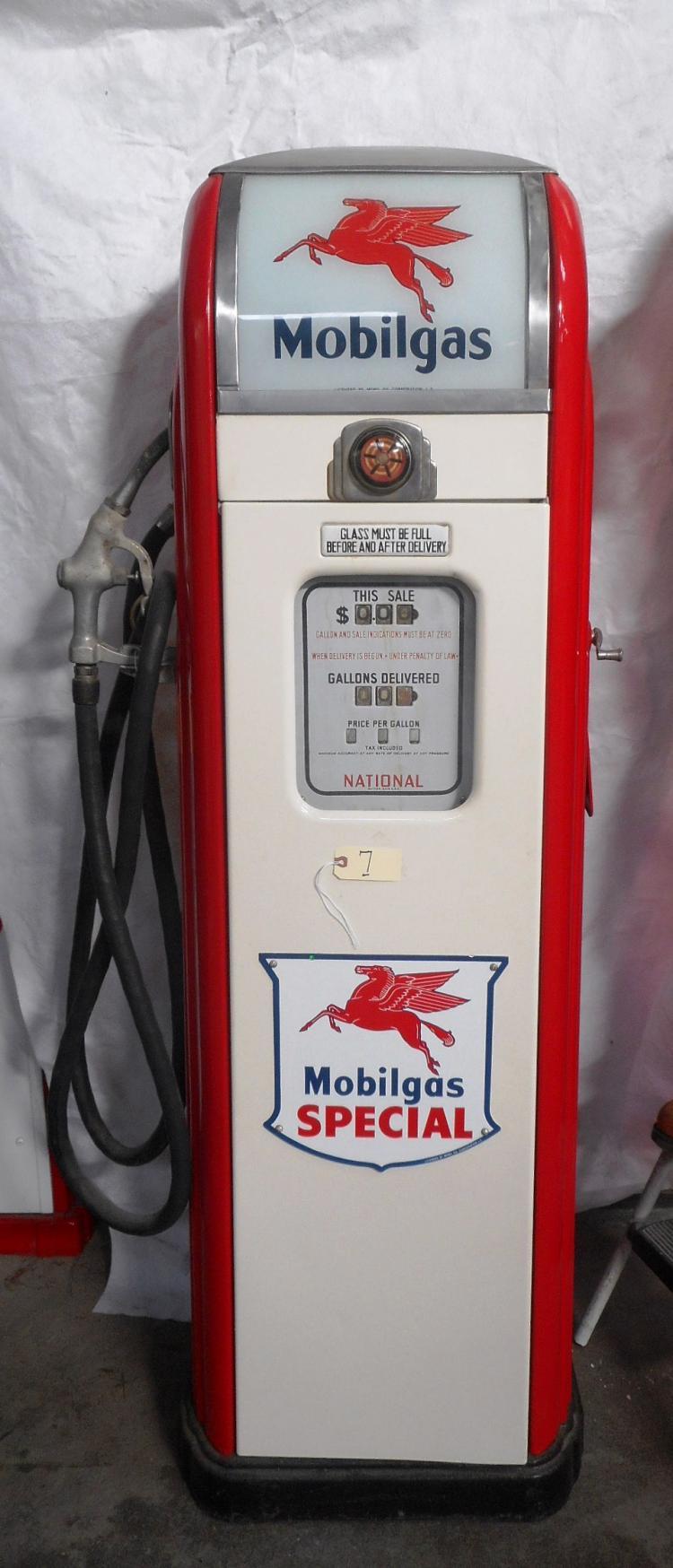 Mobilgas Special Gas Pump