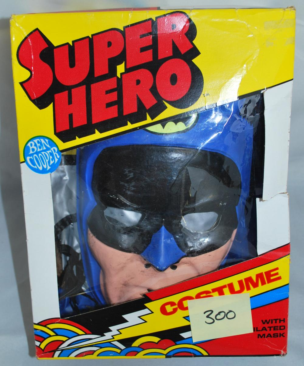Vintage 1973 Batman Super Hero Costume