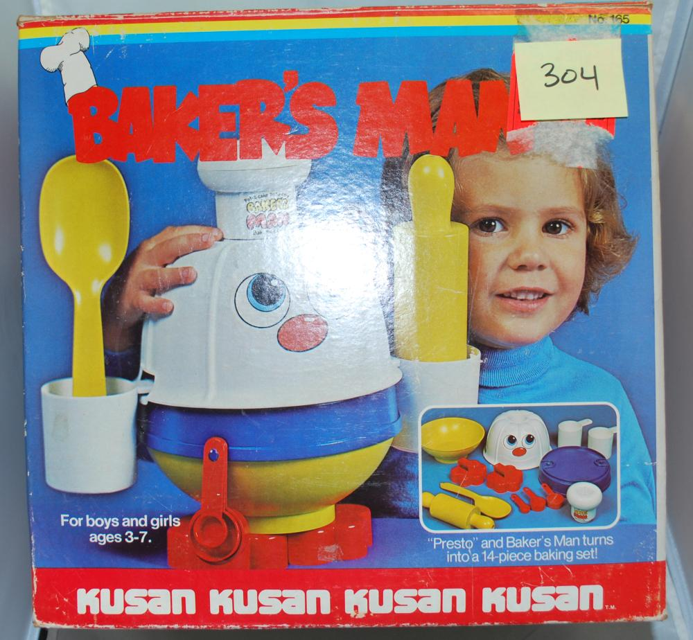 Kusan Baker's Man Kids Baking Set