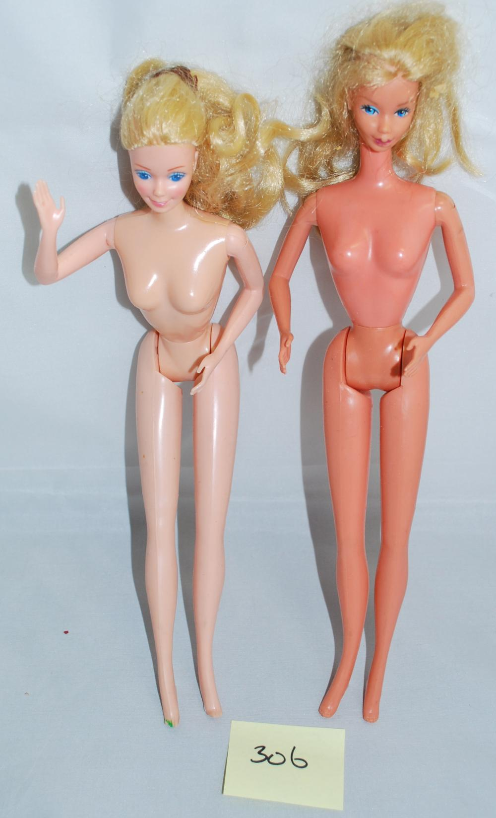 Vintage 1966 Blonde Barbie Dolls