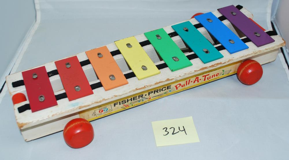 1964 Fisher Price Pull-Along Xylophone