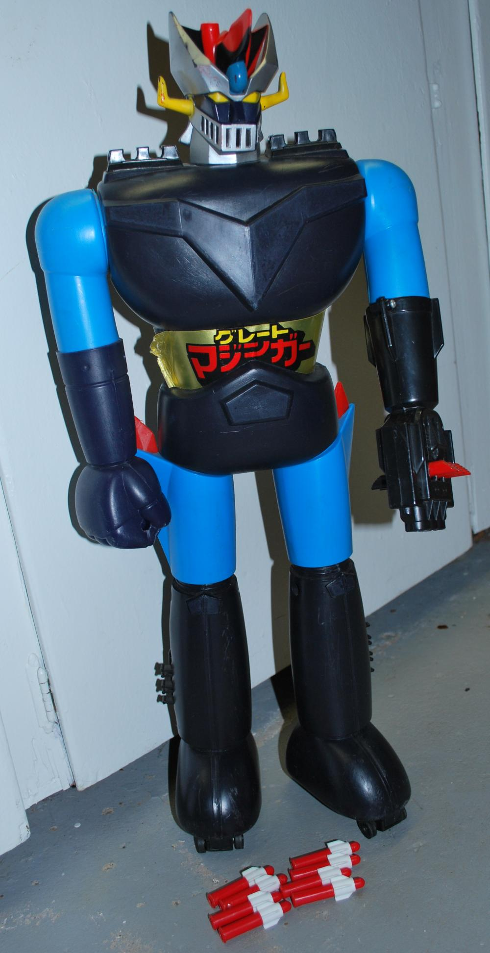 RARE 1979 Mazinga Shogun Warrior