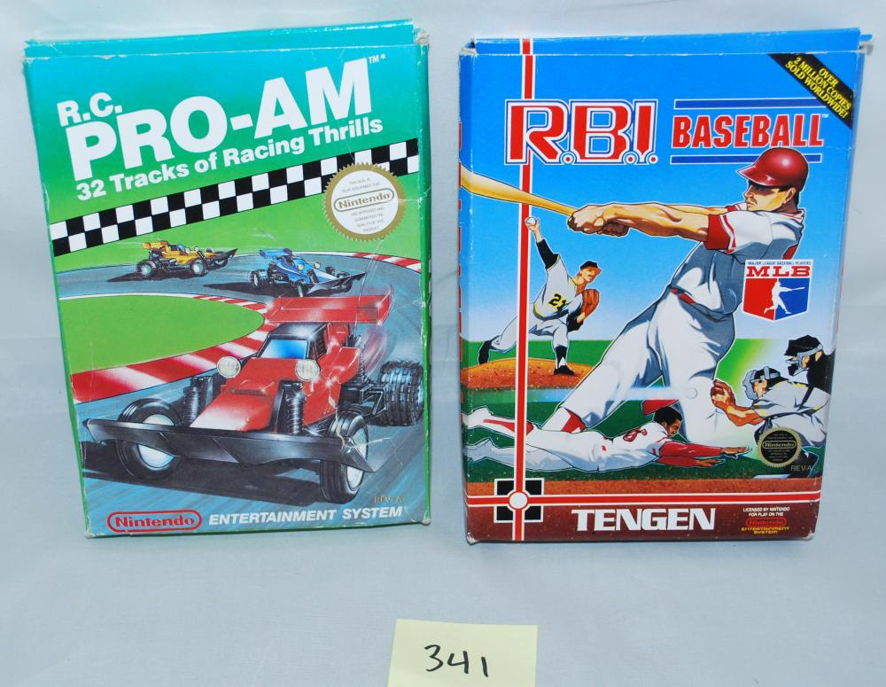 1988 Nintendo RC ProAm Video Game