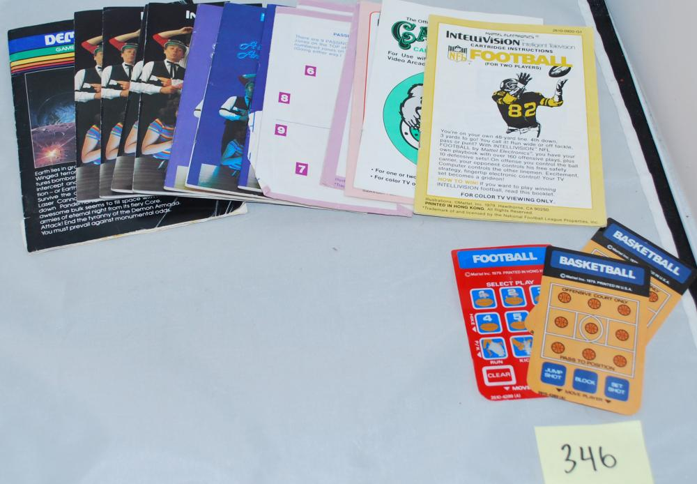 Misc. Intellivision Games and Booklets