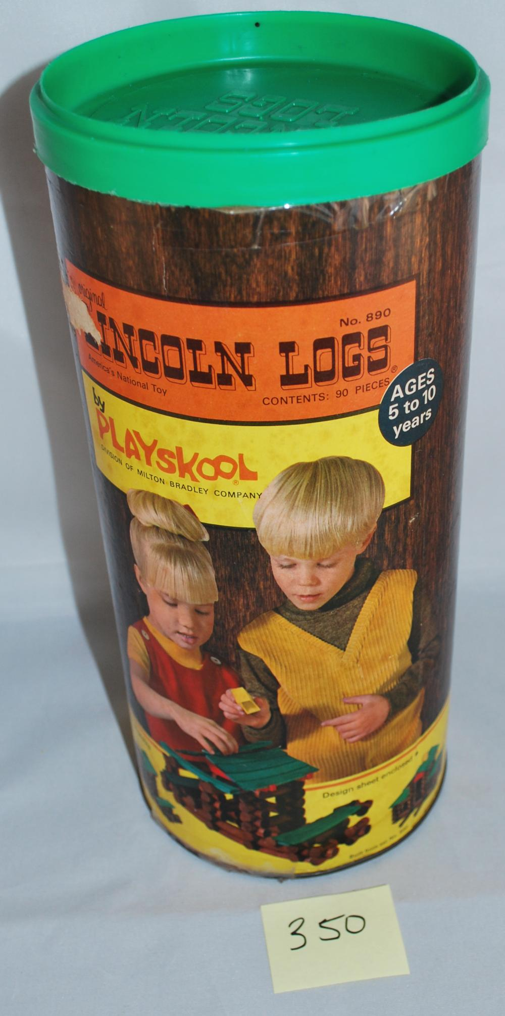 Vintage Playskool Lincoln Logs