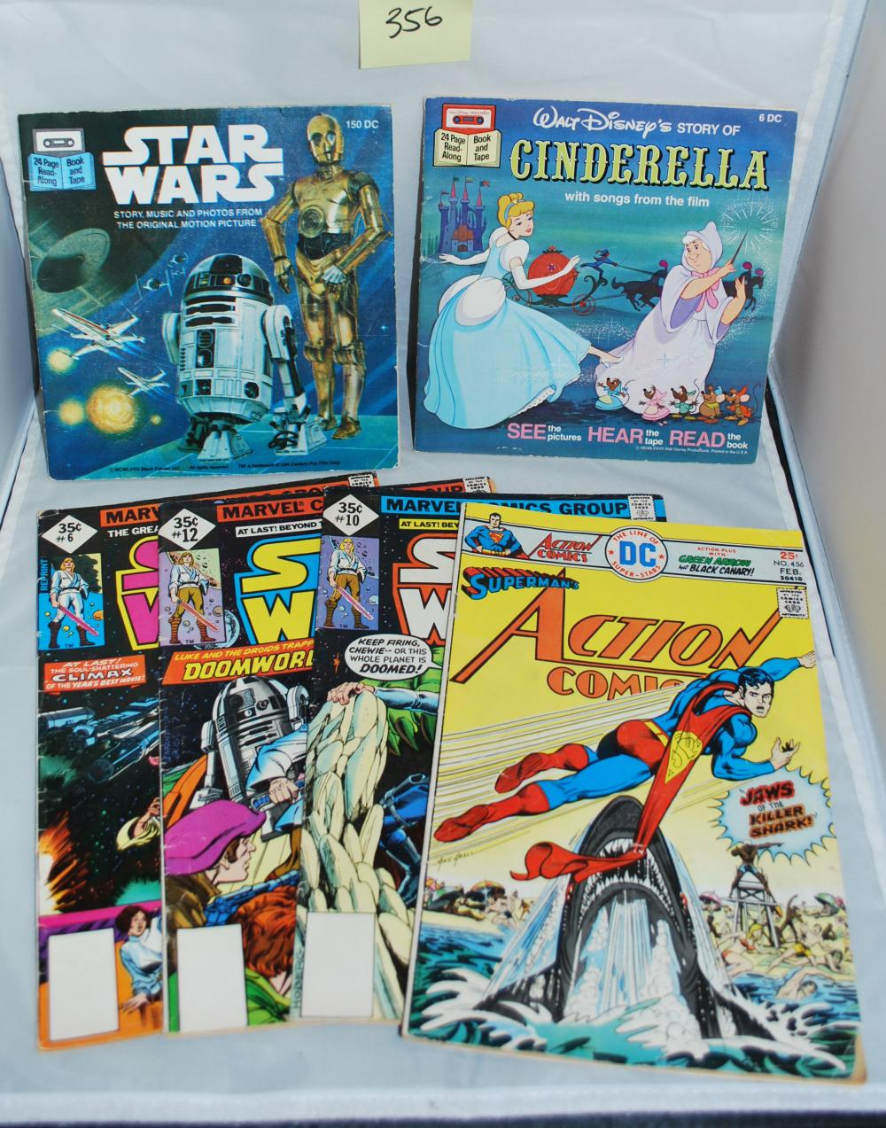 Vintage Star Wars Comic Books & Children's Books from 1970s