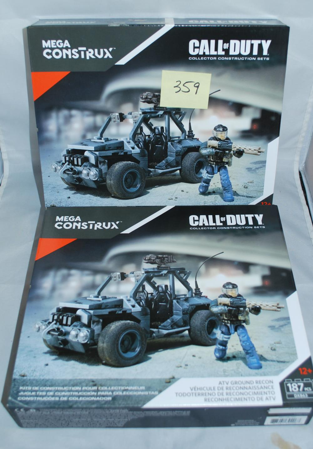 Mega Construx Call of Duty ATV Ground Recon