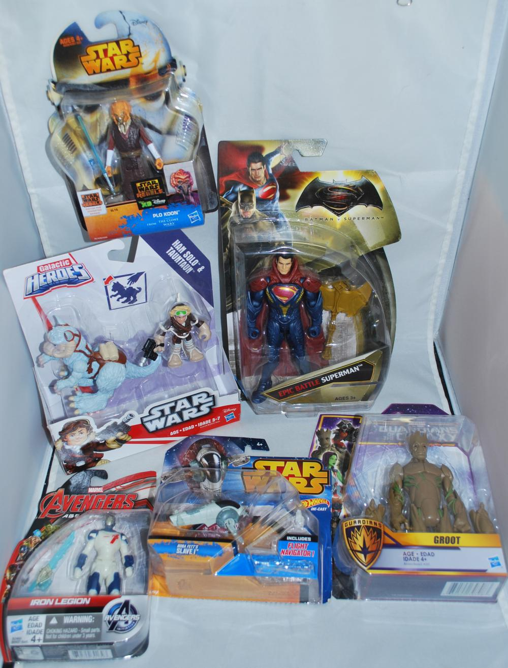 Lot of Misc. Action Figures