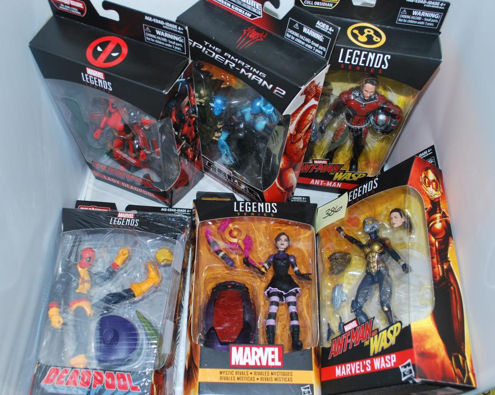 "Lot of (6) Marvel Legends 6"" Action Figures"