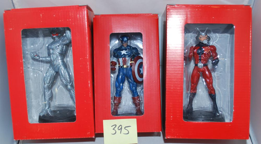 Lot of (5) Marvel Eaglemoss Porcelain Statues