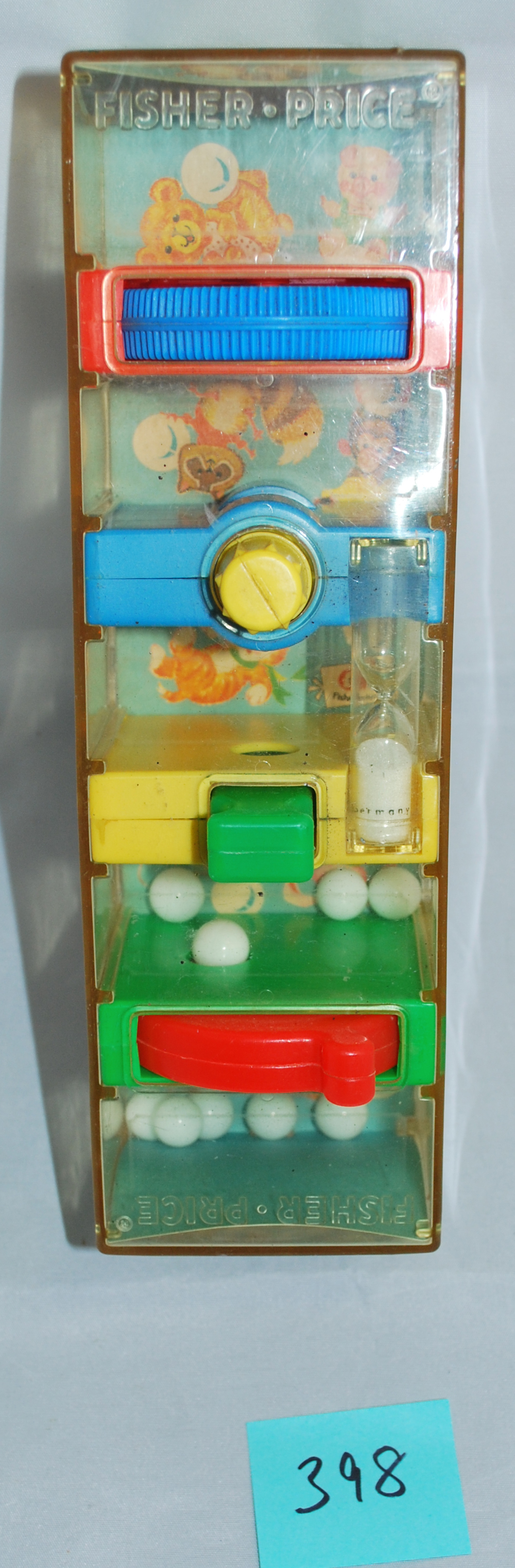 Vintage 1971 Fisher Price Tumbler Tower Learning Game