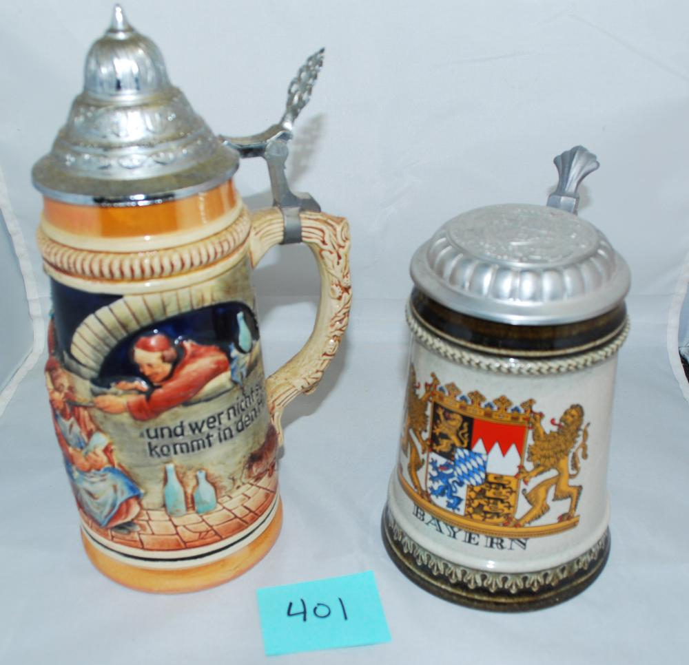 Authentic German Beer Steins